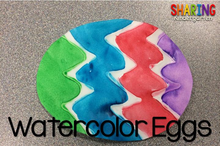 Watercolor Eggs Art