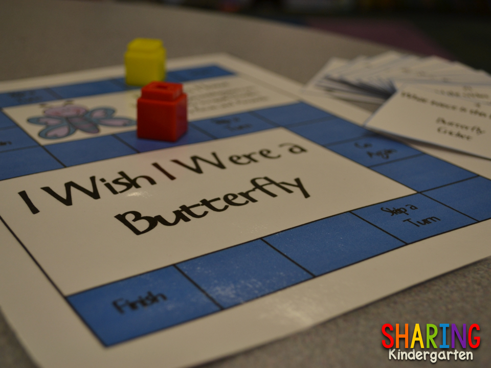 http://www.teacherspayteachers.com/Product/I-Wish-I-Were-a-Butterfly-Game-and-Writing-Prompt-234411