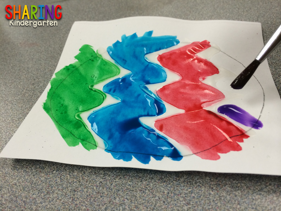 water color eggs project you will LOVE