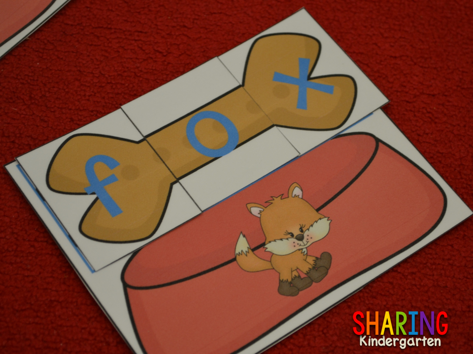 making words with this pet themed activity