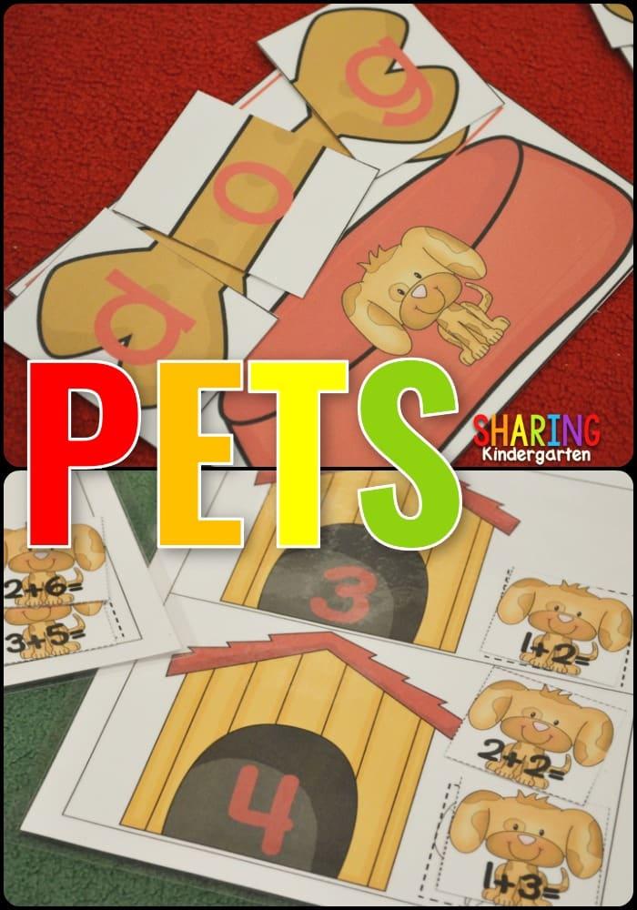 Pet Themed Learning Fun