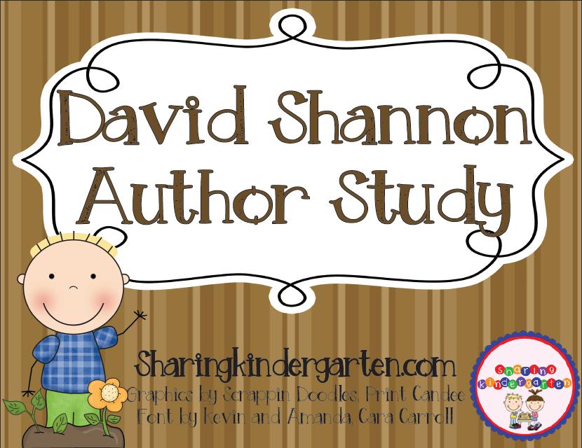 https://sharingkindergarten.com/product/david-shannon-author-study/