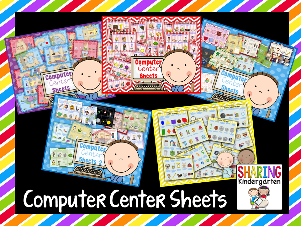 http://www.teacherspayteachers.com/Store/Sharing-Kindergarten/Category/Computer-Center-Sheets