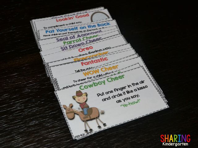Dr. Jean's Cheer Cards {freebie}
