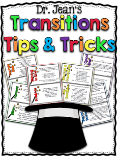 http://www.teacherspayteachers.com/Product/Dr-Jeans-Transition-Tips-Tricks-329963