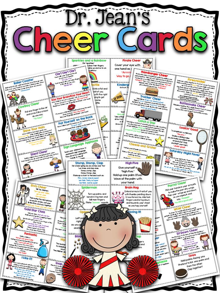 http://www.teacherspayteachers.com/Product/Dr-Jeans-Cheer-Cards-1269012