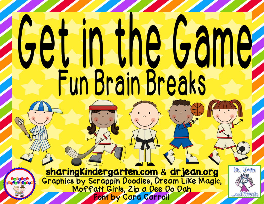http://www.teacherspayteachers.com/Product/Get-in-the-Game-Brain-Breaks-659075