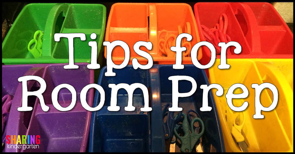 Tips for Room Prep