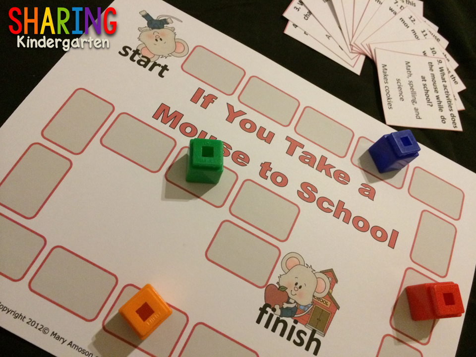 Reading comprehension Game If You Take a Mouse to School