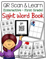 https://www.teacherspayteachers.com/Product/QR-Scan-Learn-Interactive-Sight-Word-Book-FIRST-GRADE-1448829