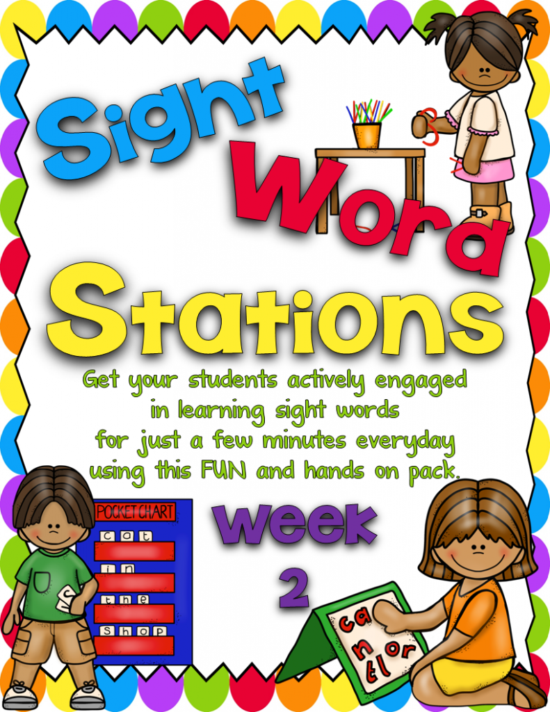 http://www.teacherspayteachers.com/Product/Sight-Word-Stations-PrePrimer2-1096141
