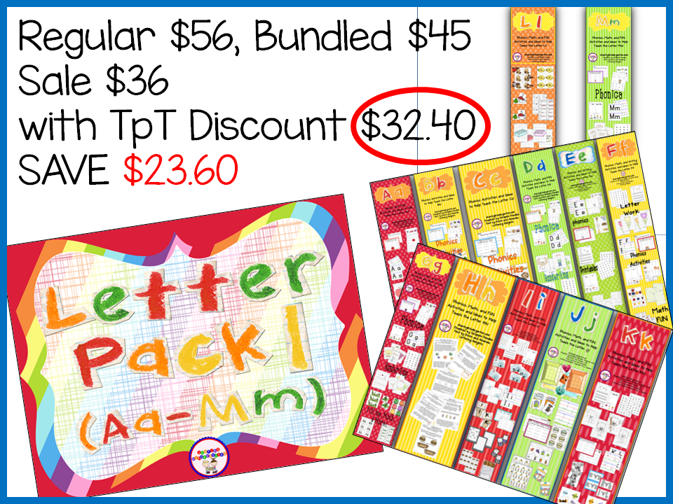http://www.teacherspayteachers.com/Product/Letter-Pack-1-Aa-Mm-791787