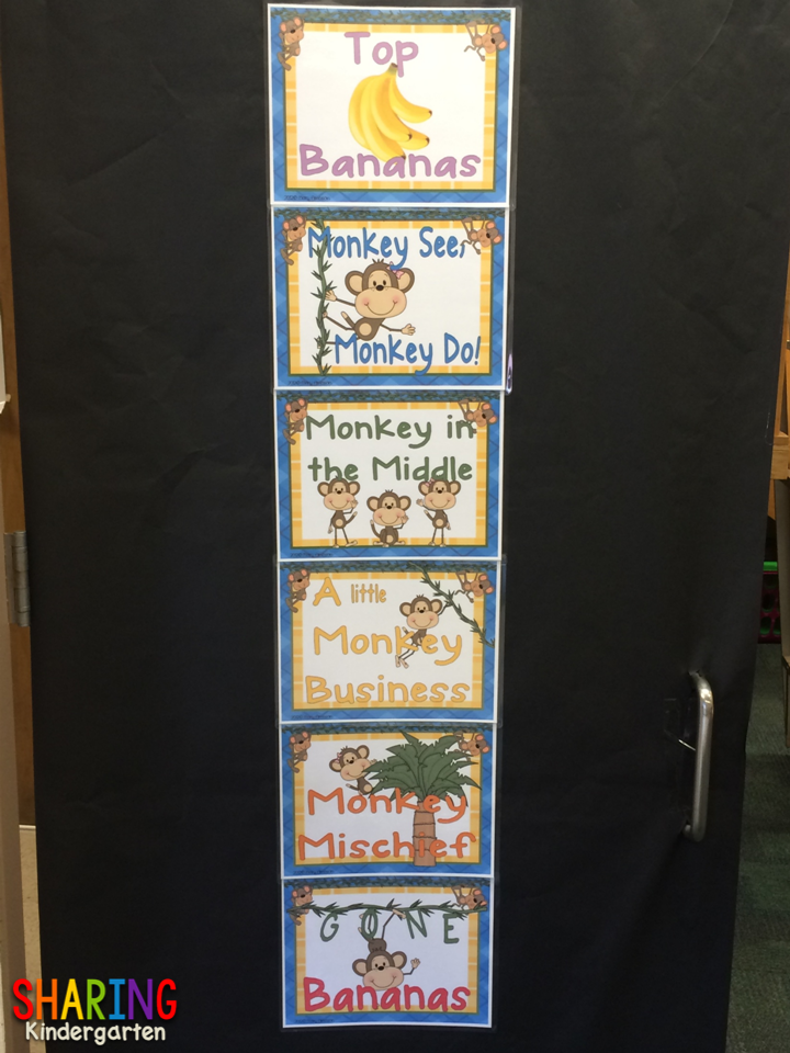 http://www.teacherspayteachers.com/Product/Monkey-Behavioral-Charts-292278