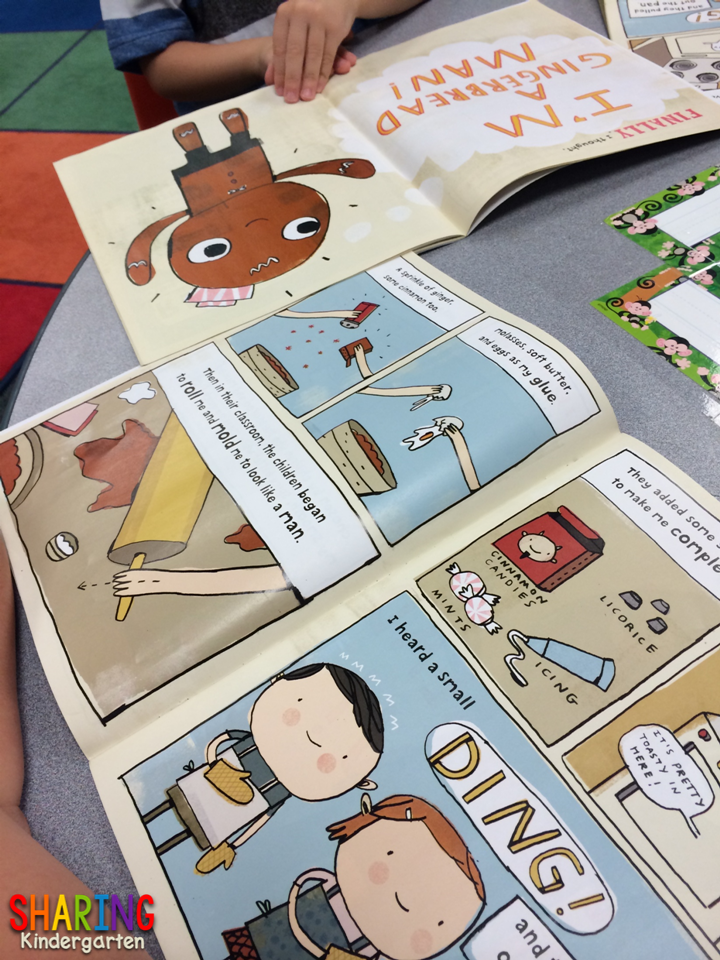 Gingerbread Man book for the beginning of the school year