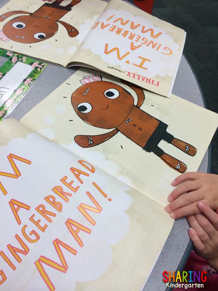 Gingerbread Man Loose in School book