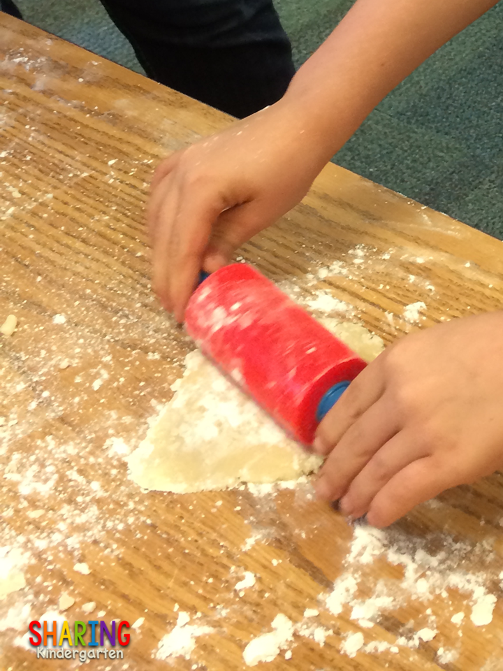 making cookies in school