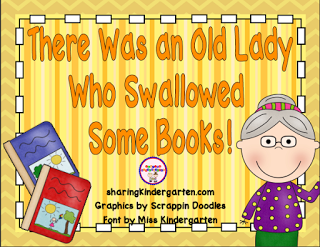 https://www.teacherspayteachers.com/Product/There-Was-an-Old-Lady-Who-Swallowed-Some-Books-Unit-277645