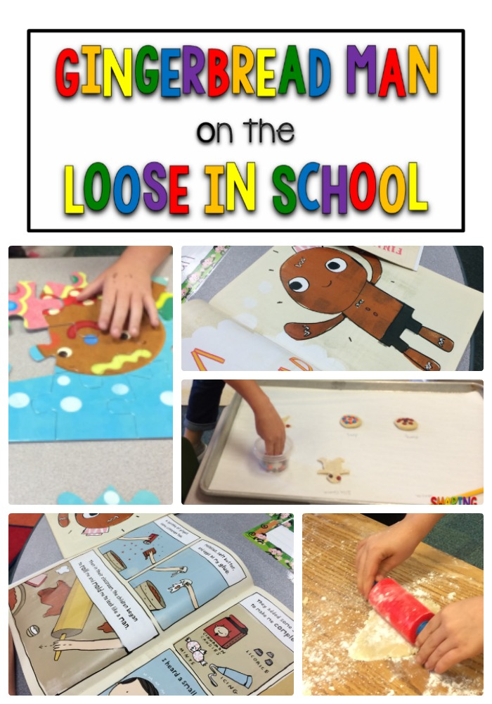 Gingerbread Man on the Loose in School
