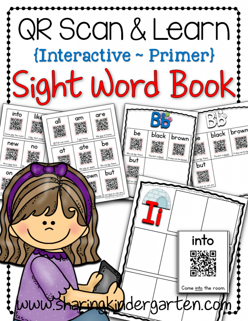 https://www.teacherspayteachers.com/Product/QR-Scan-Learn-Interactive-Sight-Word-Book-Primer-1323136