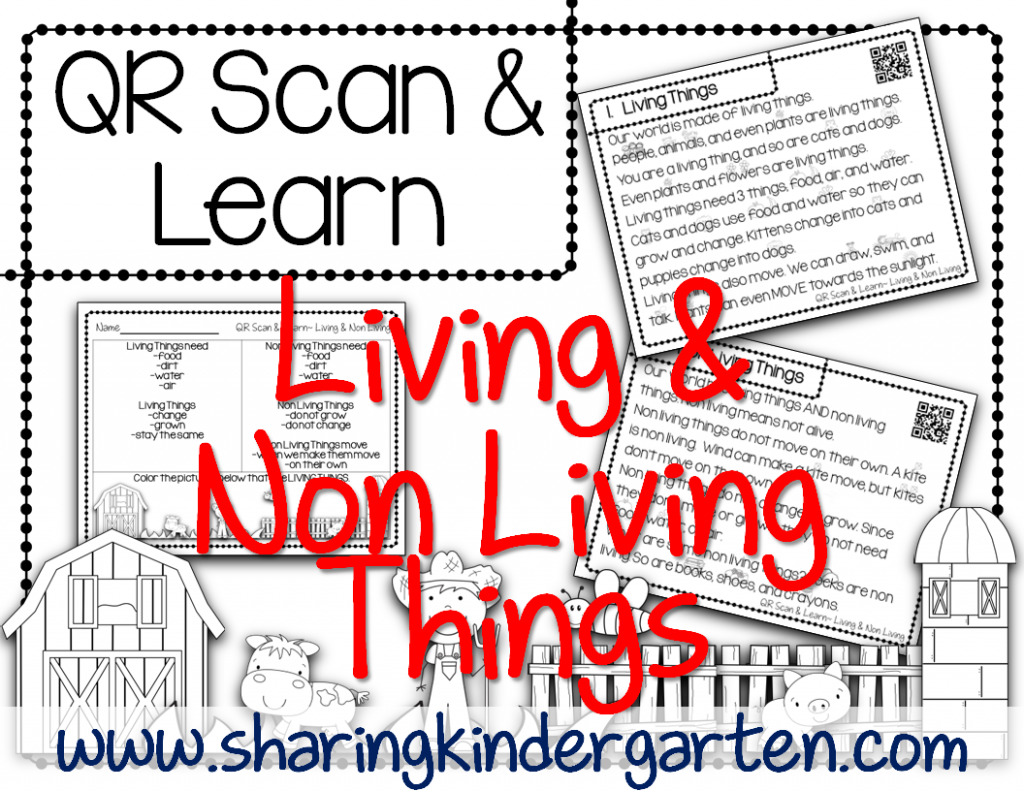 http://www.teacherspayteachers.com/Product/QR-Scan-Learn-Living-and-Non-Living-1435198