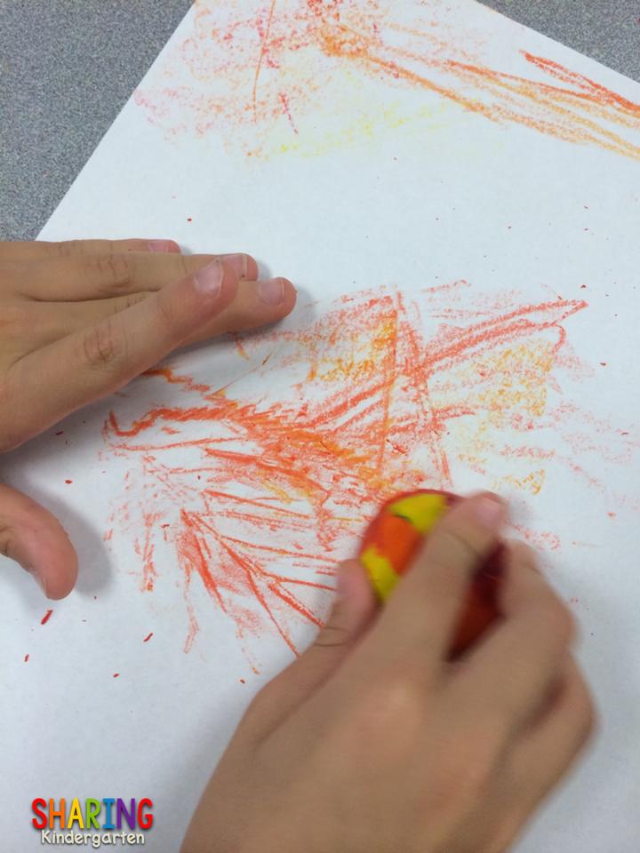 Lovely Leaves Art Leaves - Sharing Kindergarten
