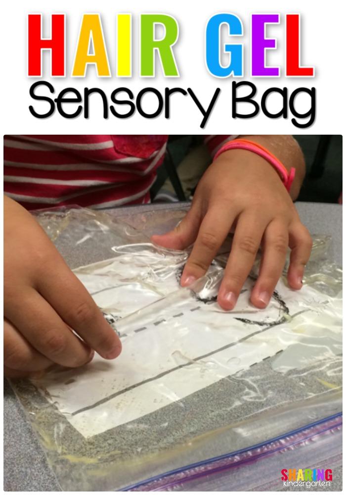 Hair Gel Sensory Bag