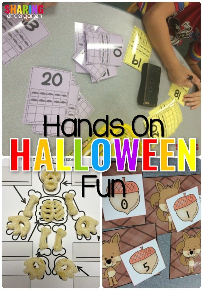 Hands On Halloween Fun Centers