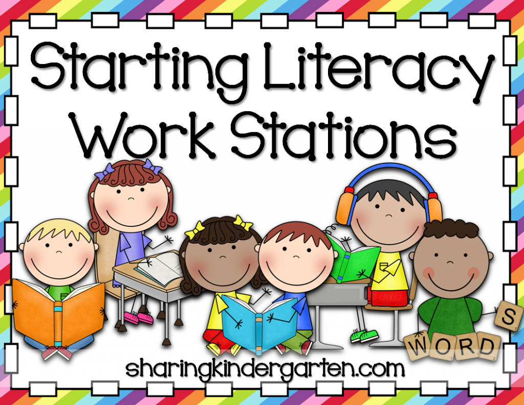 Use this pack to start using work stations in your classroom