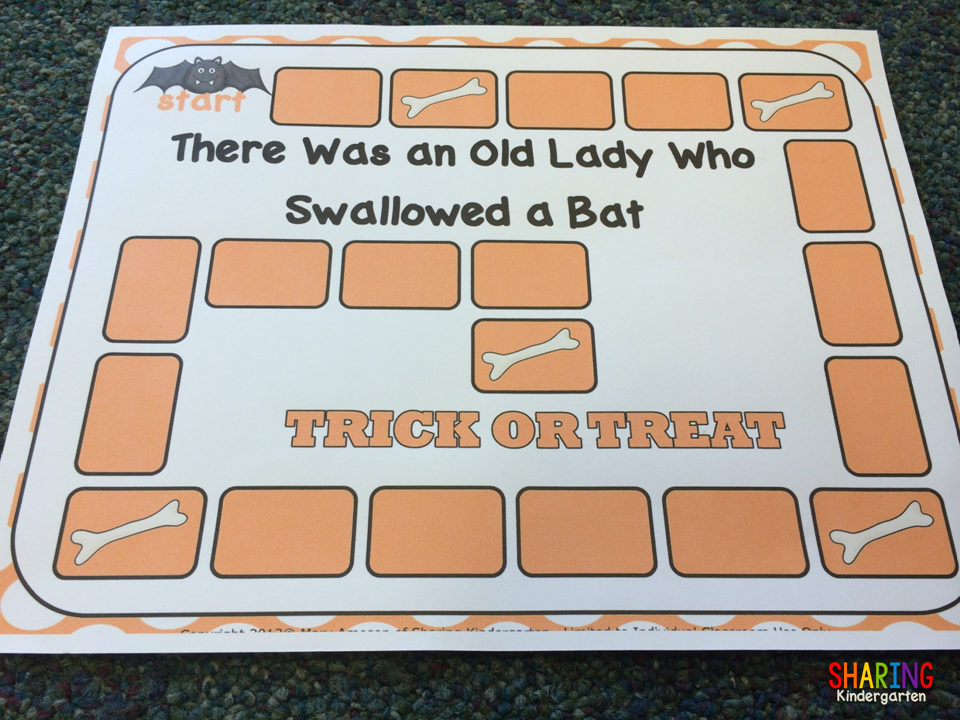 http://www.teacherspayteachers.com/Product/There-Was-an-Old-Lady-Who-Swallowed-a-Bat-Literacy-264772