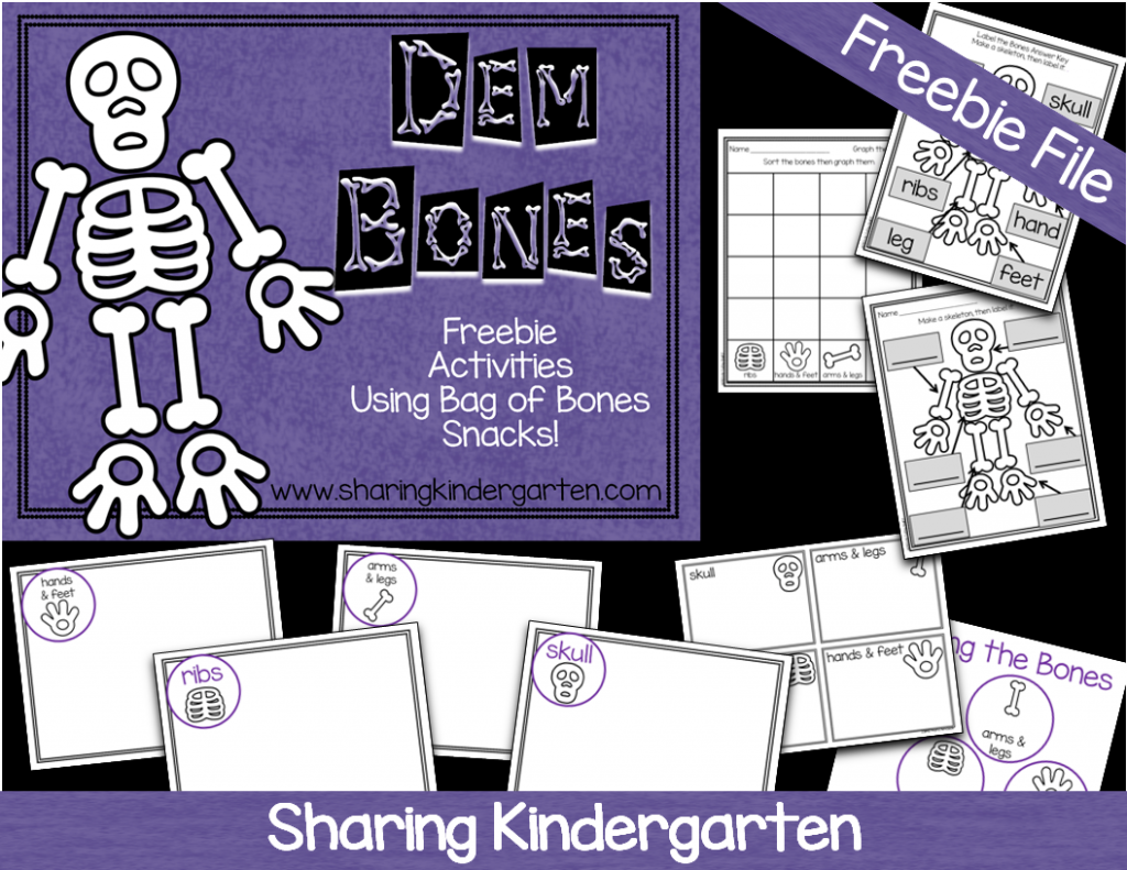 Bag of Bones FREEBIE activities