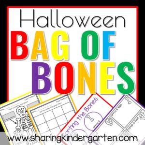 Halloween Bag of Bones FREEBIE