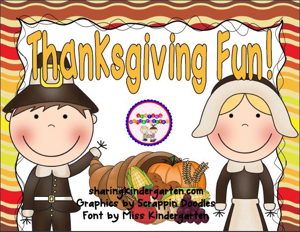 http://www.teacherspayteachers.com/Product/Thanksgiving-Fun-Activities-398177