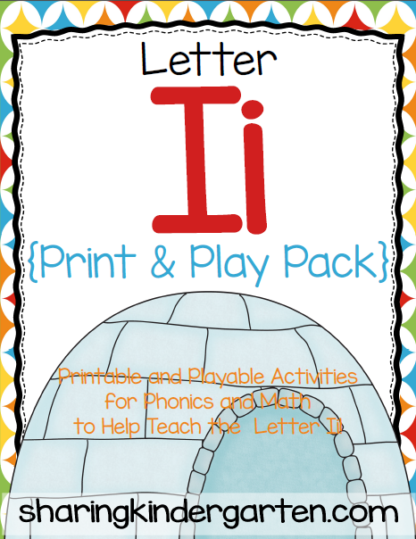 http://www.teacherspayteachers.com/Product/Letter-Ii-Print-Play-Pack-377125