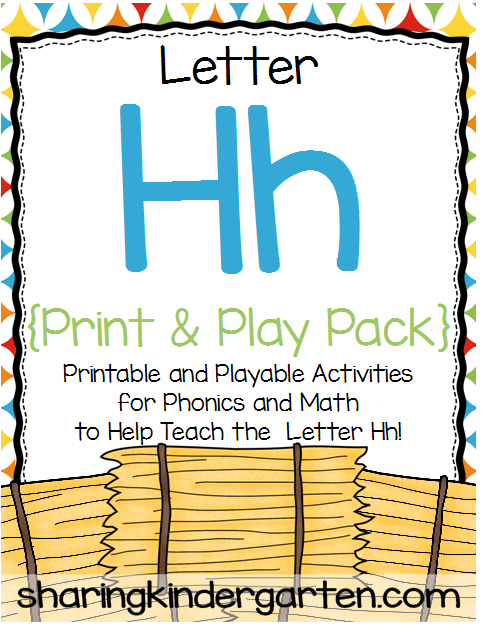 http://www.teacherspayteachers.com/Product/Letter-Hh-Print-Play-Pack-339104