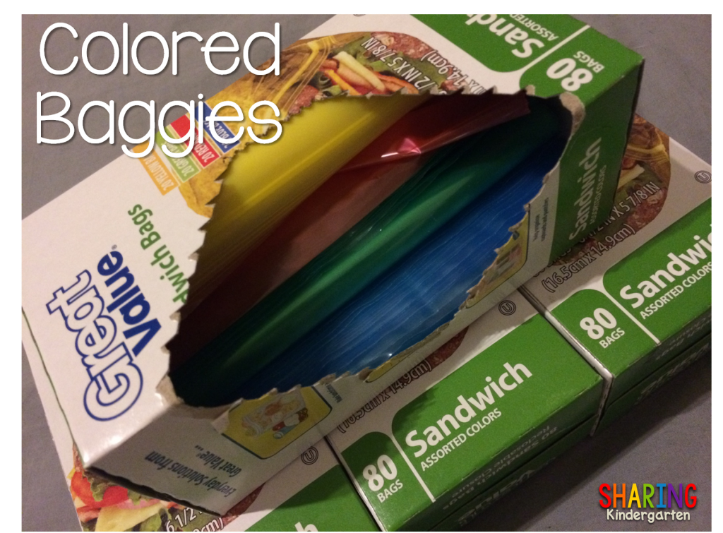 Colored Baggies… Oh My!