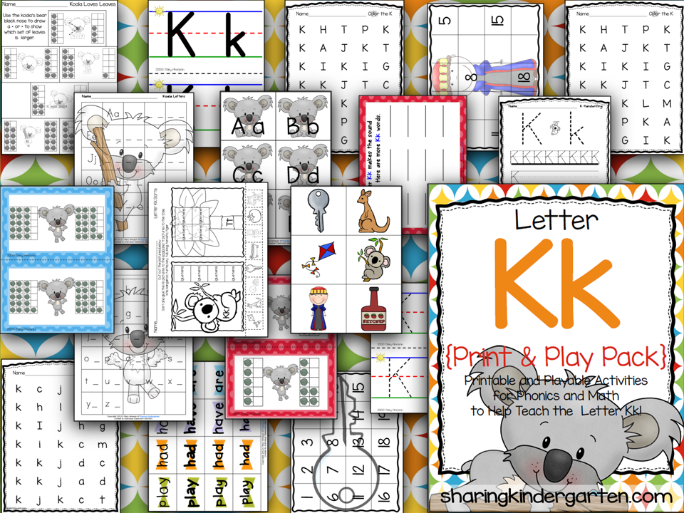 http://www.teacherspayteachers.com/Product/Letter-Kk-Print-Play-Pack-399304