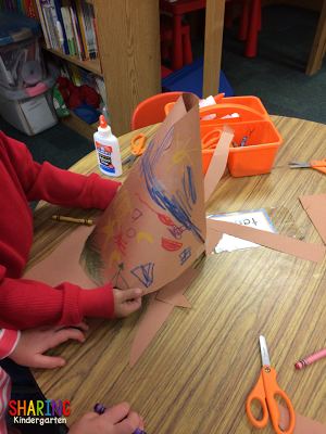 STEM activities in K... make a teepee