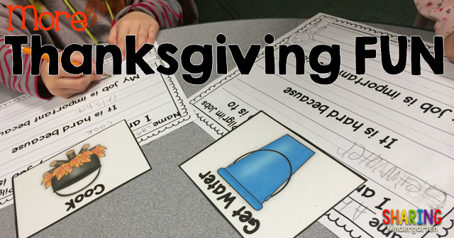 More Thanksgiving FUN activities for little learners
