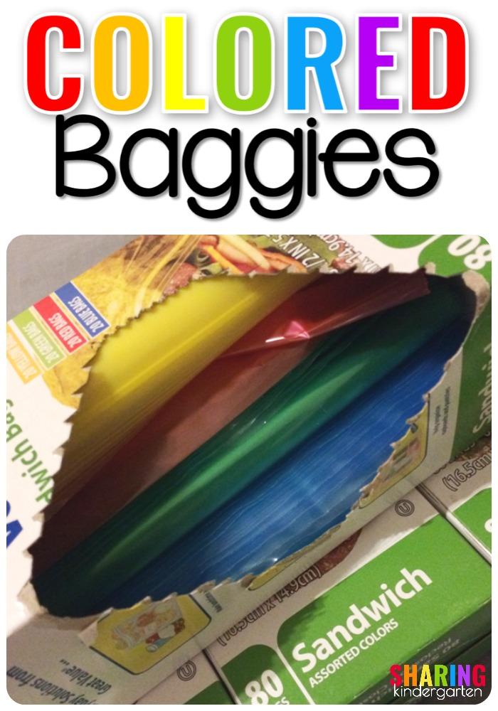 Colored Baggies