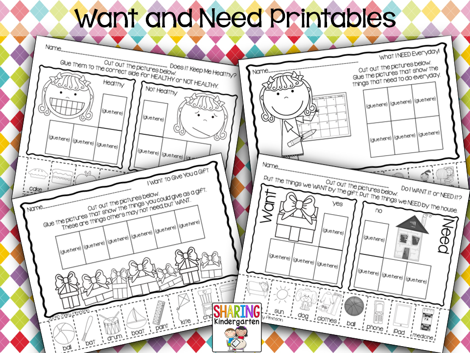 http://www.teacherspayteachers.com/Product/Wants-and-Needs-Print-Play-Pack-1582648