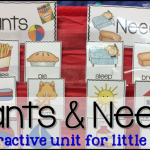 Wants and Needs {with a FREEBIE}