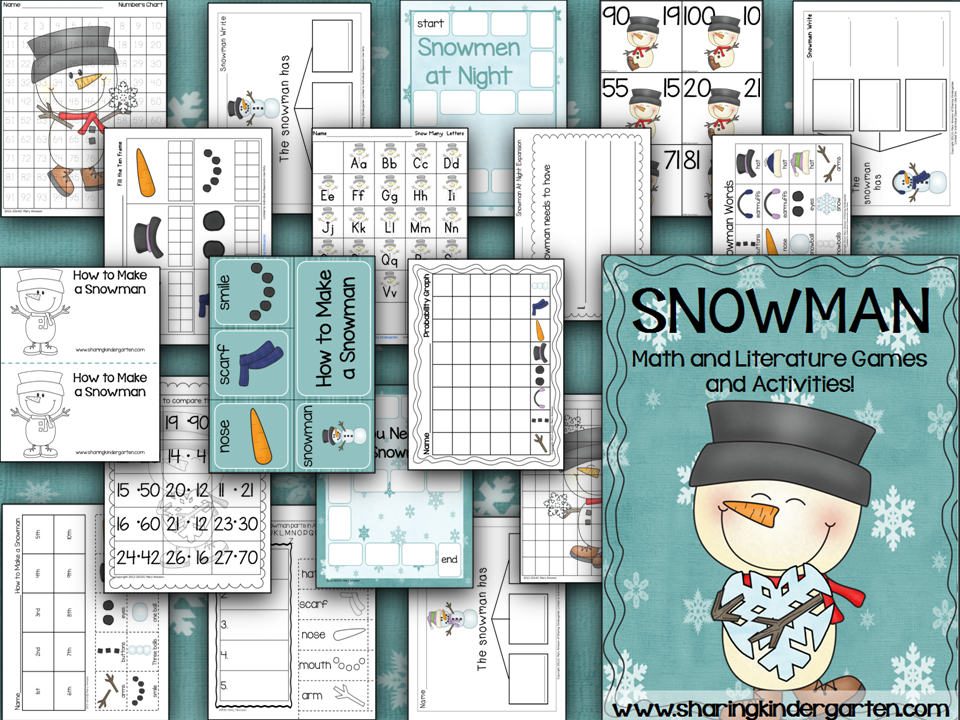 http://www.teacherspayteachers.com/Product/Snowman-Math-and-Literacy-178246