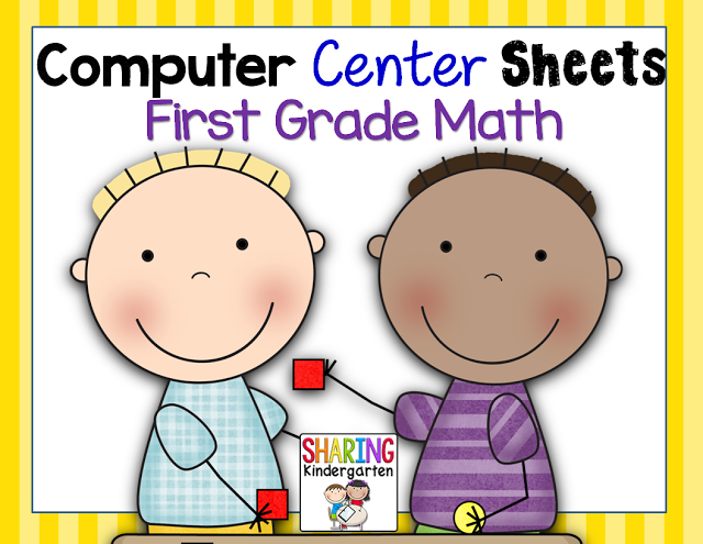 https://www.teacherspayteachers.com/Product/Computer-Center-Sheets-1st-GradeMath-1348703