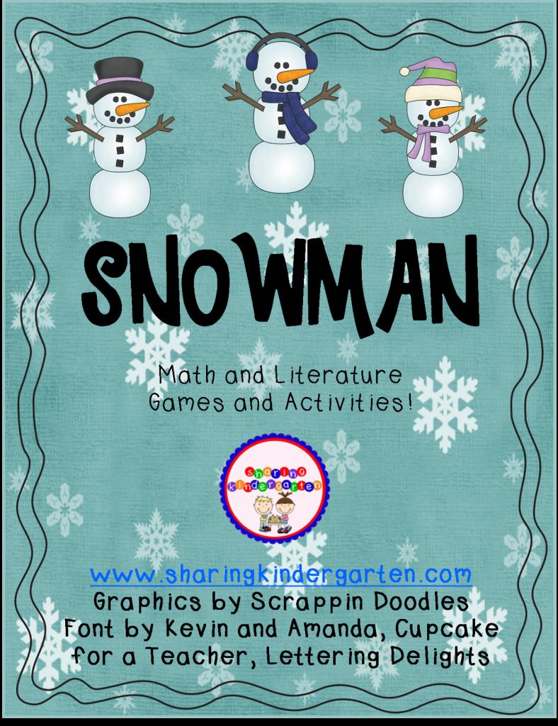 http://www.teacherspayteachers.com/Product/Snowman-Math-and-Literacy-178246