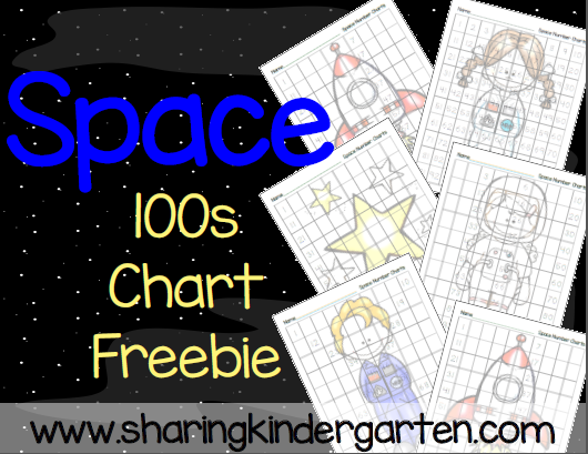 https://www.teacherspayteachers.com/Product/Space-100s-Number-Chart-204027