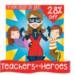 Teachers are Heros Sale
