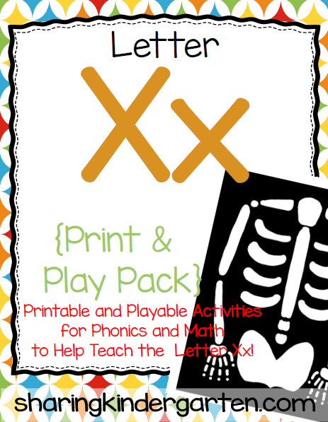 https://www.teacherspayteachers.com/Product/Letter-Xx-Print-Play-Pack-790247
