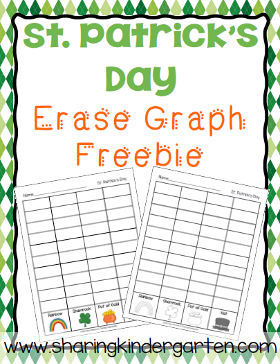 https://www.teacherspayteachers.com/Product/St-Patricks-Day-Eraser-Graph-Freebie-1752250