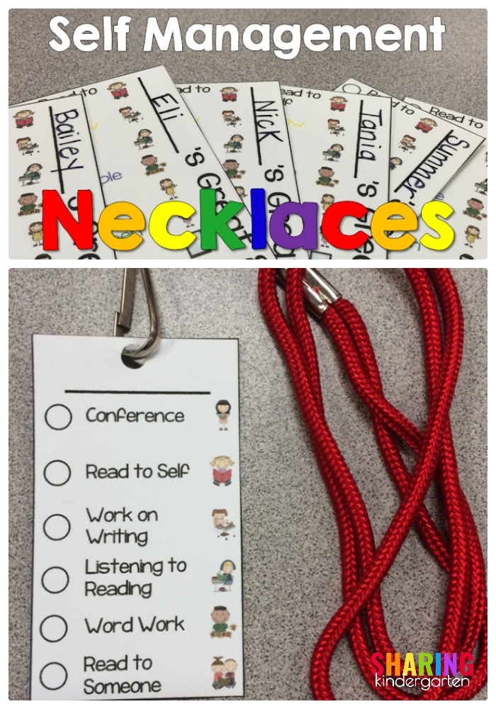 Self management necklaces