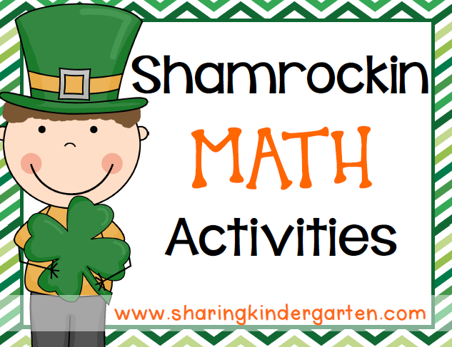 https://www.teacherspayteachers.com/Product/Shamrockin-Math-Activities-214753